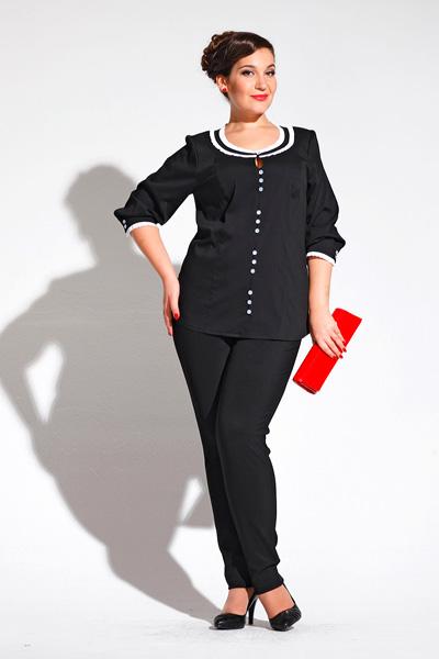 Модные блузки 2014 для полных 11