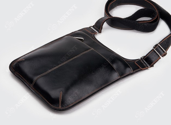 """Сумка мужская S15TX.  Сумка из коллекции  """"Texas """", выполненная в толстой винтажной коже с контрастной..."""