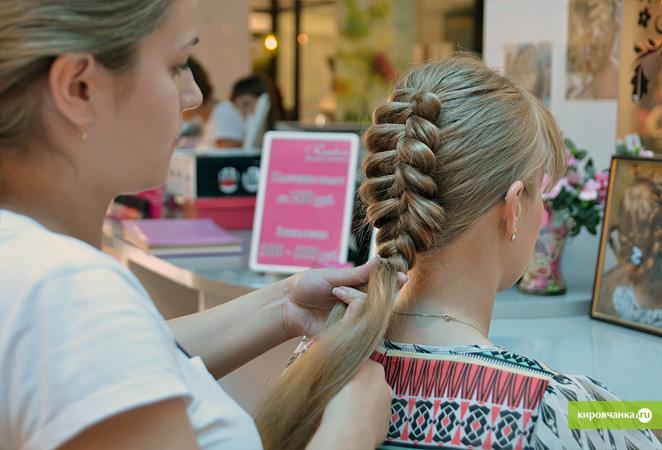 Прическа коса для жидких волос