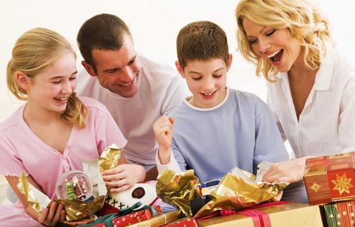 Подарки для семьи на новый год своими руками