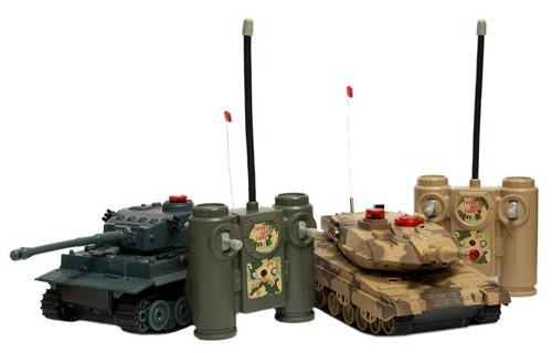 Набор радиоуправляемых танков