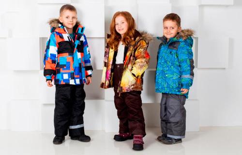 Модная коллекция верхняя детская одежда