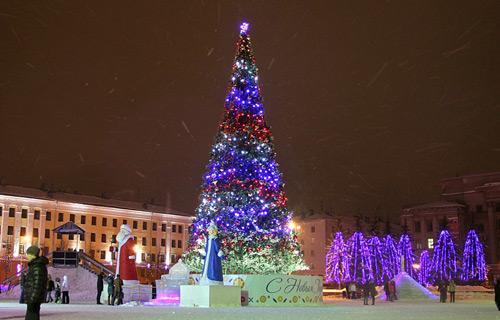 Киров мероприятия на новый год 2017
