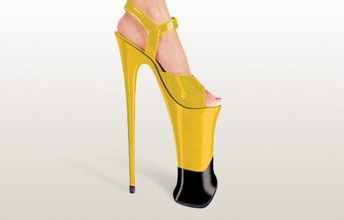 Туфли На Очень Высоком Каблуке Фото