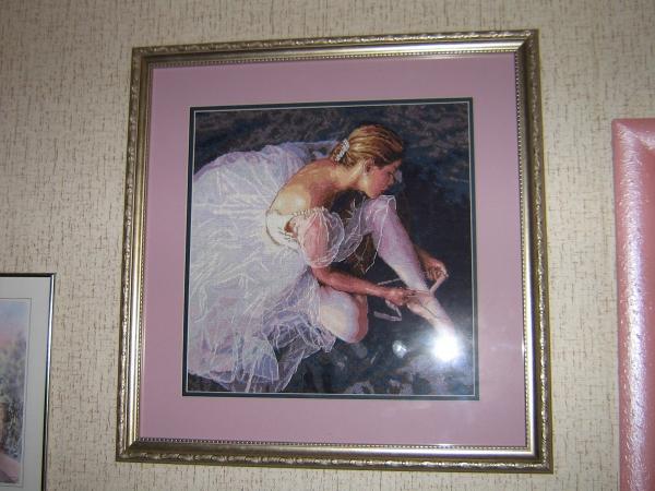 Балерина вышивка крестом наборы 45