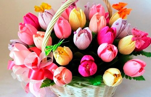 Цветы с конфетами своими руками на день рождения