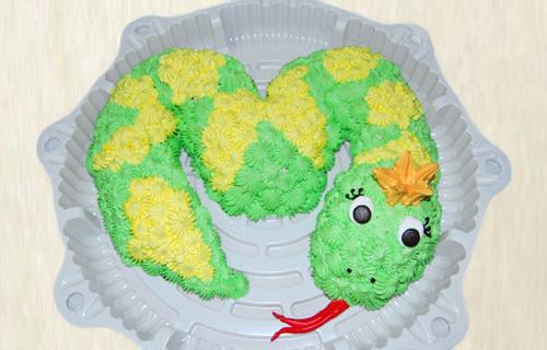 рецепт торт в виде змеи