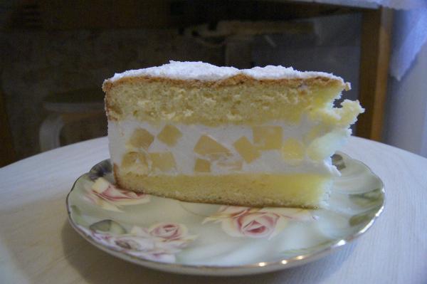 Торт с творожным сыром сливочным