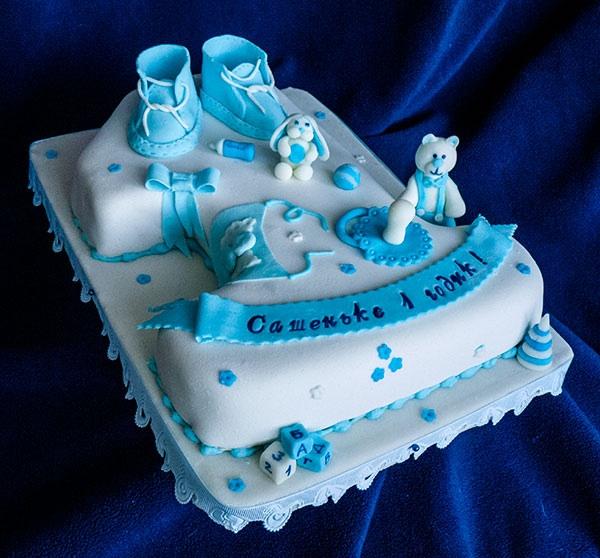 Фото тортов на год для мальчиков