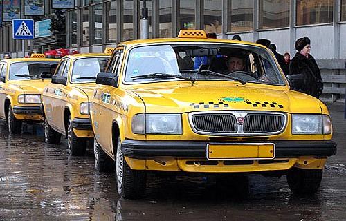 Кировские такси пожелтеют