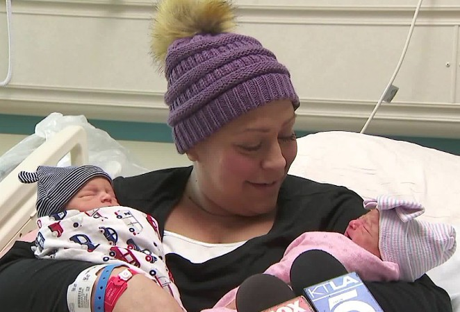 Рак не помешал родить здоровых близнецов