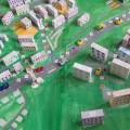 Для школьников создали макет кировского микрорайона