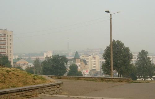Откуда дым в Кирове?
