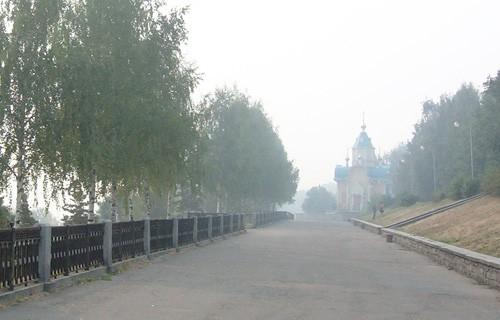 В Кирове снова дым