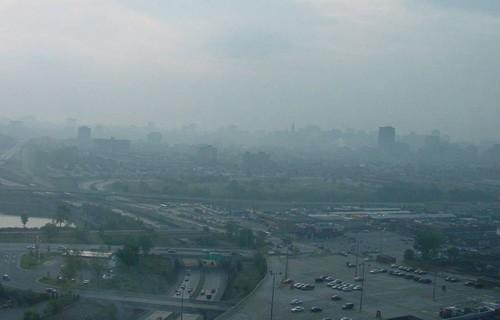 Концентрация угарного газа в Москве превысила норму в четыре раза