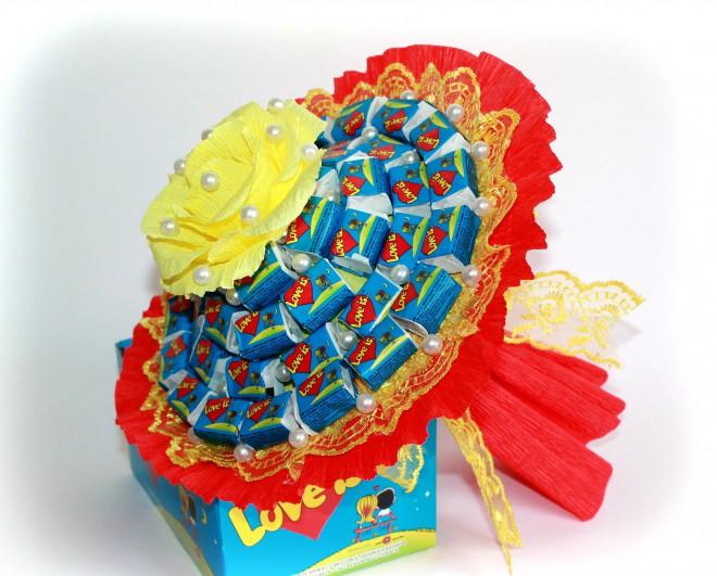 Сладкие подарки для девочек своими руками 27