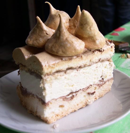 Рецепт торт-мороженого с фото