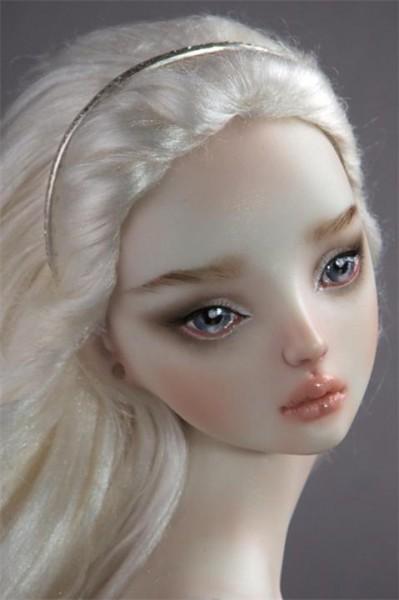 Как фарфоровой кукле сделать волосы