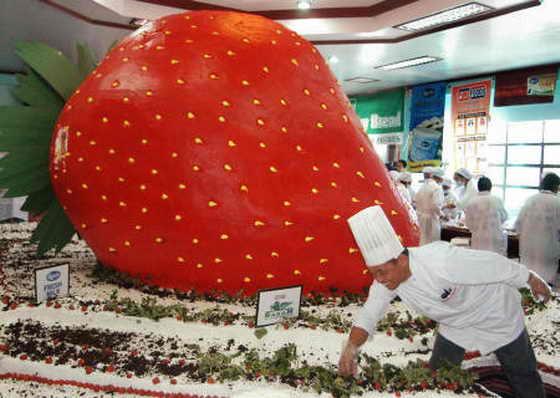 Самые большой торт в мире